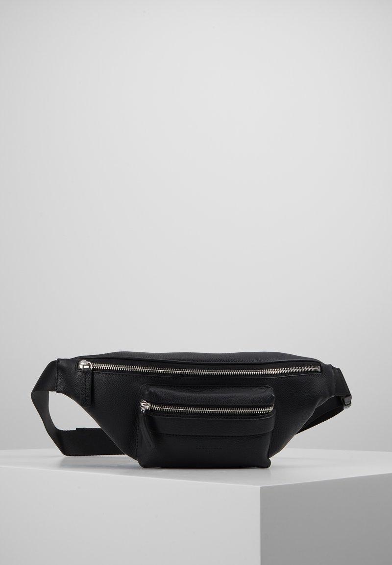 Le Tanneur - WAIST BAG - Torba na ramię - noir