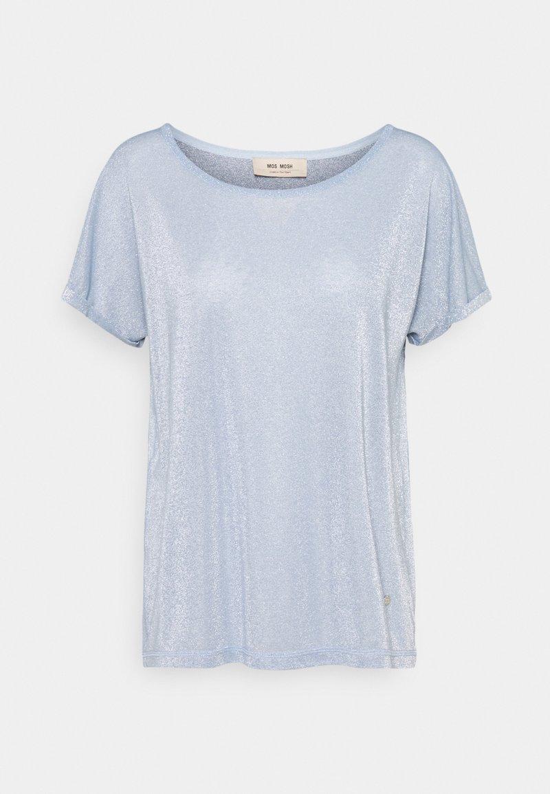Mos Mosh - KAY TEE - Jednoduché triko - bel air blue