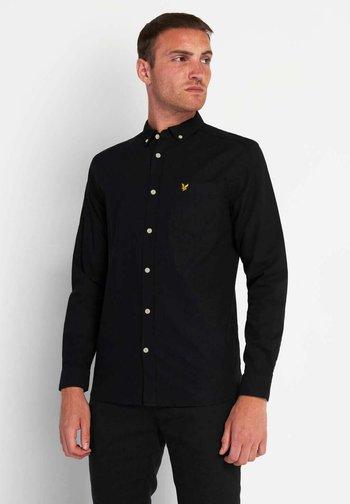 OXFORD - Shirt - jet black