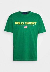 Polo Sport Ralph Lauren - Print T-shirt - english green - 4