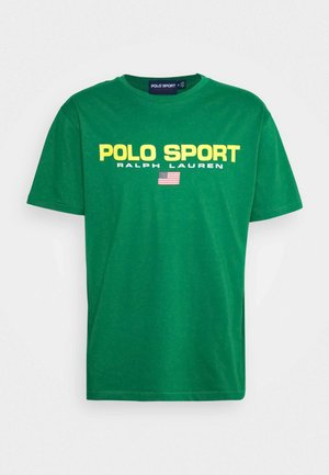 SHORT SLEEVE - T-Shirt print - english green