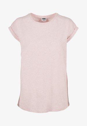 T-shirt basique - pink melange