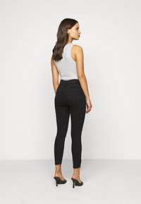 New Look Petite - RIPPED DISCO - Skinny džíny - black - 2