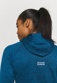 New Balance - HEAT GRID HOODIE - Hoodie - blue - 4