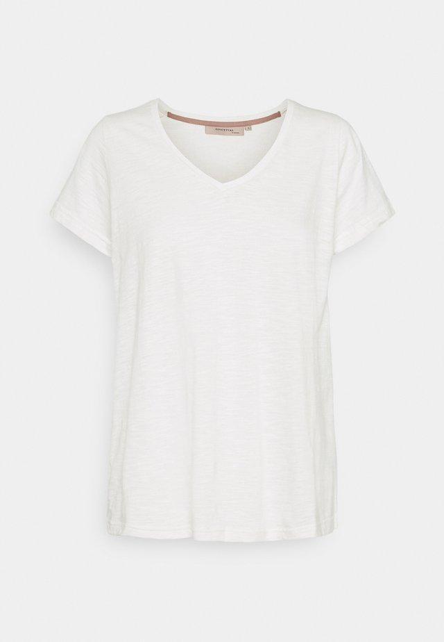 ESSENTIAL  - T-shirt basic - cloud dancer