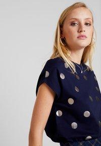 Anna Field - Print T-shirt - maritime blue - 3