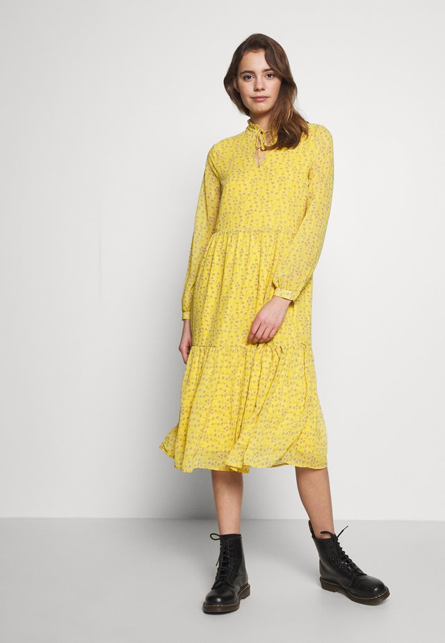 ONLSUNNY MIDI DRESS - Vestido informal - misted yellow