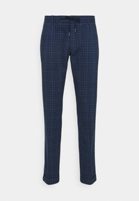 Tommy Hilfiger Tailored - DENTON ACTIVE POW CHECK TURN UP - Trousers - desert sky - 5