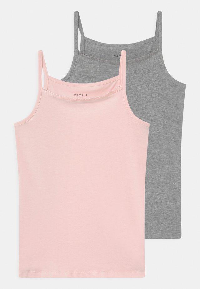 NKFSTRAP 2 PACK - Camiseta interior - barely pink