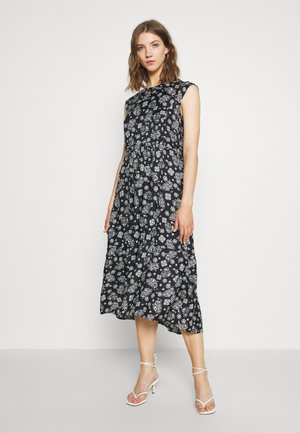 DRESS PRINT STYLE FEMININE SHAPE - Day dress - multi/midnight