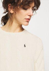 Polo Ralph Lauren - LONG SLEEVE - Jersey de punto - croquet cream - 3