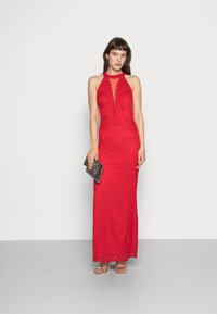 WAL G. - HIGH NECK MAXI - Occasion wear - red - 1