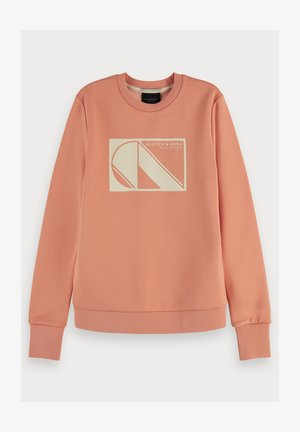 Basic long sleeve - Sweater - coral rock