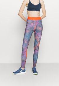 adidas Performance - FLORAL - Tights - multicoloured - 0