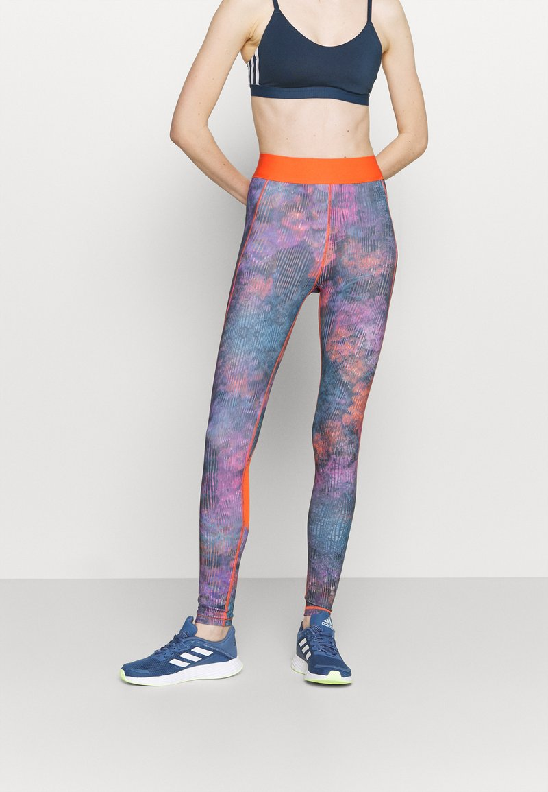 adidas Performance - FLORAL - Tights - multicoloured