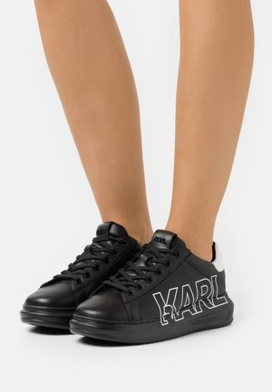KAPRI OUTLINE LOGO - Sneaker low - black/silver