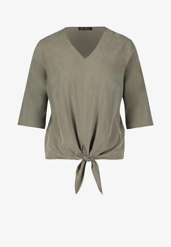 Basic T-shirt - dusty olive