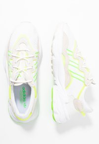 adidas Originals - OZWEEGO ADIPRENE+ RUNNINIG-STYLE SHOES - Trainers - footwear white/super yellow/super green - 5