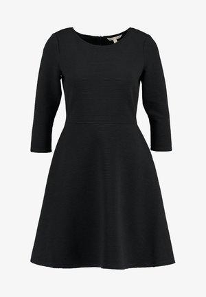 SKATER DRESS ROUND - Jerseykjole - black