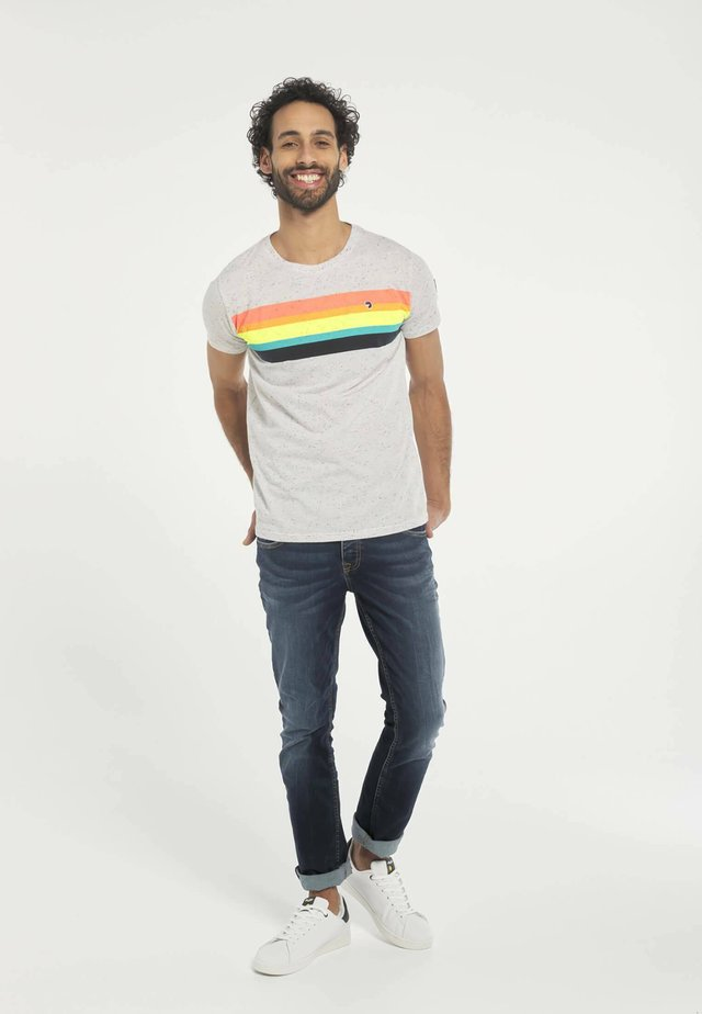T-shirt print - multicolore