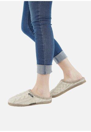 NEUDAU  - Slippers - off-white/beige