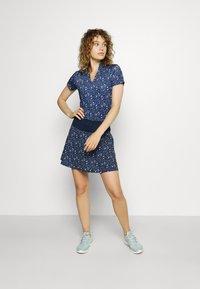 Puma Golf - MATTR DISPERSION - Print T-shirt - navy blazer/mazarine blue - 1