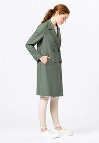 HALLHUBER - Classic coat - seegrün - 2