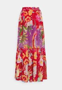 Farm Rio - MIXED FLORAL MAXI SKIRT - Maxi skirt - multi - 6