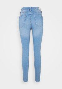 TOM TAILOR DENIM - NELA - Jeans Skinny Fit - used light stone blue - 1