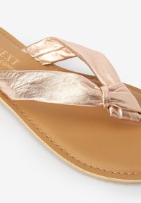 Next - T-bar sandals - rose gold-coloured - 2