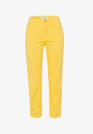 STYLE CARO S - Pantalon classique - sun yellow