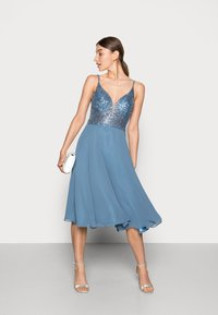 Swing - Cocktail dress / Party dress - vintage blue - 1