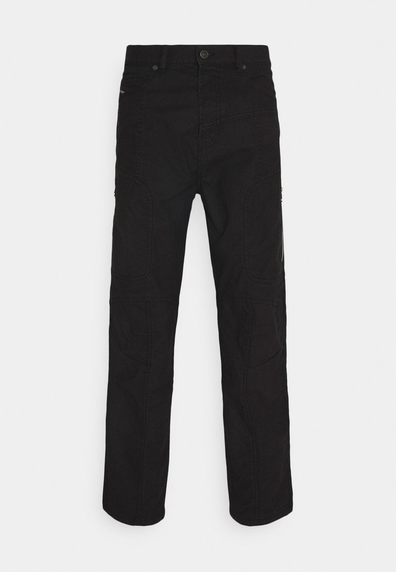 Diesel - D-VIDER-BK-SP-NE - Relaxed fit jeans - 0DDAX