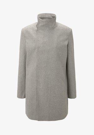 Krótki płaszcz - grey herringbone
