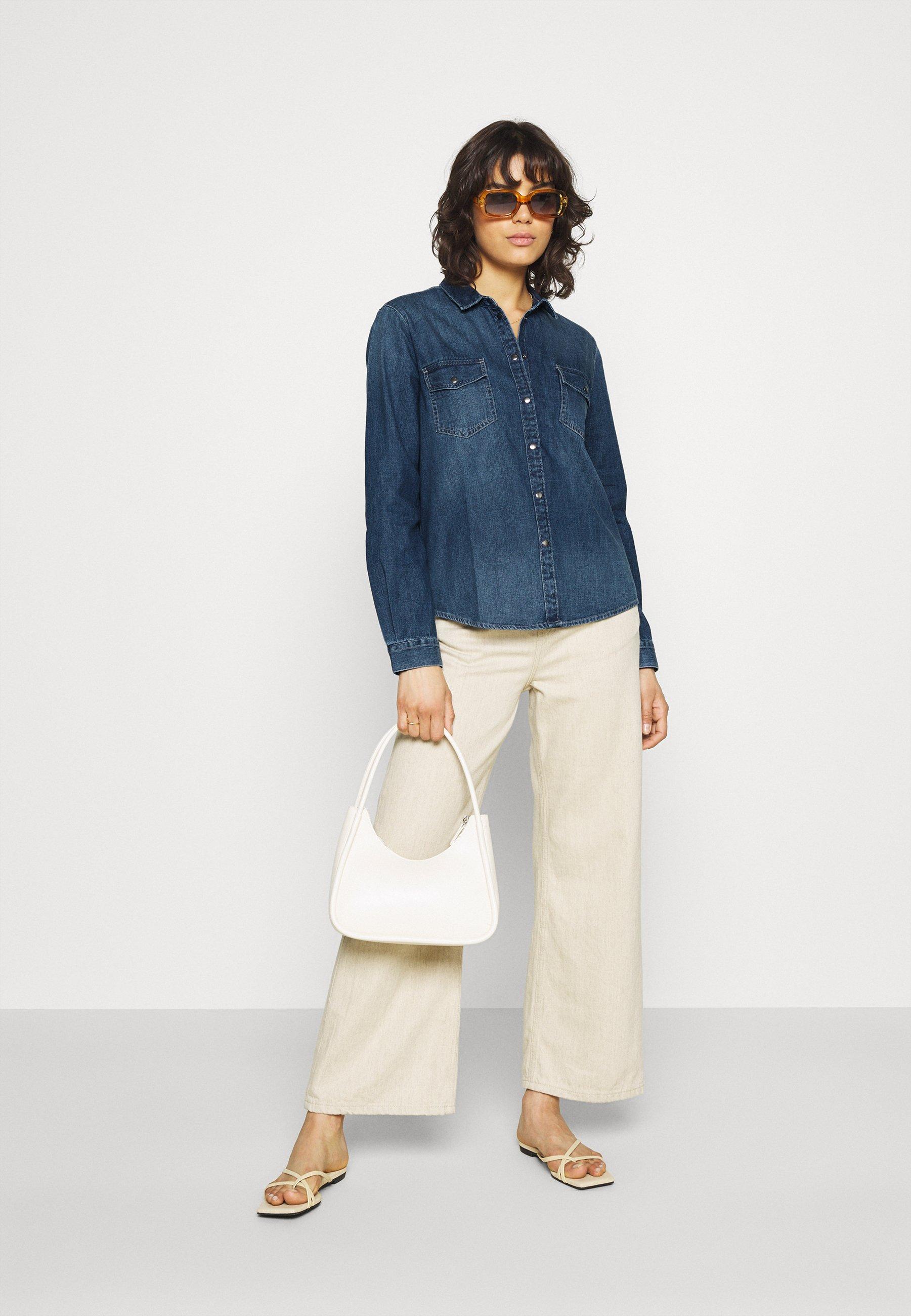 Women JDYSOLIMA LIFE SHIRT - Button-down blouse