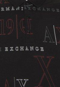 Armani Exchange - Polo shirt - black/red heritage - 6
