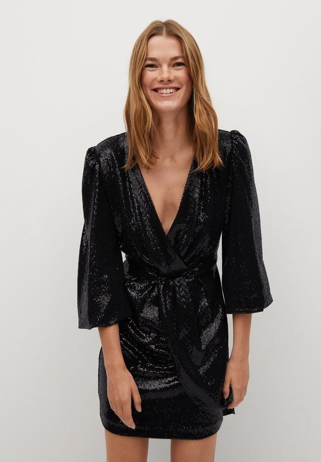 DISCO - Cocktailkleid/festliches Kleid - svart
