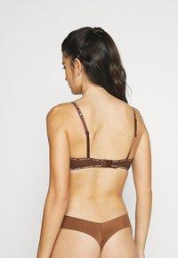 Calvin Klein Underwear - UNLINED BRALETTE 2 PACK - Steznik - rich espresso - 2