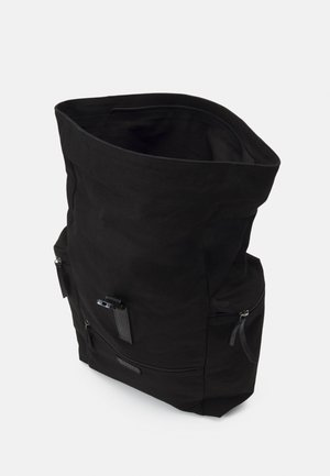 ZAC ROLL TOP BACKPACK UNISEX - Reppu - black