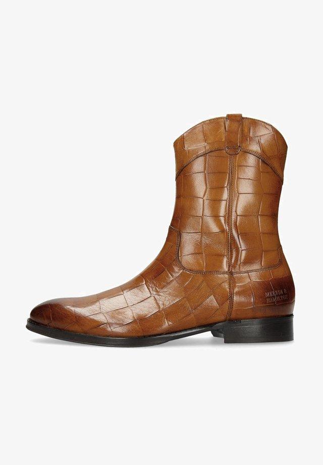 KANE  - Cowboy/biker ankle boot - brown