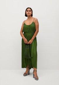 Violeta by Mango - RITA - Day dress - olivengrün - 7
