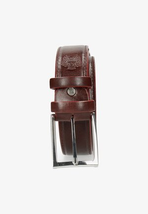 LARRY BURGUNDY CLASSIC BUCKLE - Riem - red