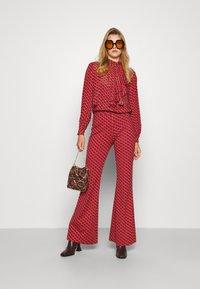 Diane von Furstenberg - BROOKLYN PANTS - Trousers - signature red - 1