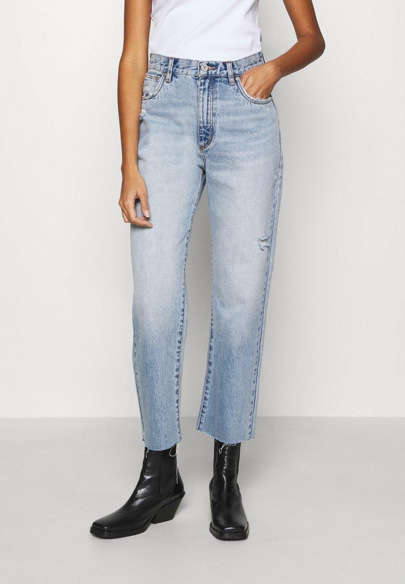 Abrand Jeans - VENICE - Straight leg jeans - aqua aura