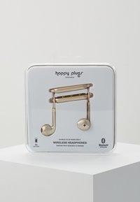 Happy Plugs - WIRELESS II - Headphones - matte gold-coloured - 0