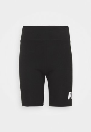 LOGO SHORT  - Leggings - puma black