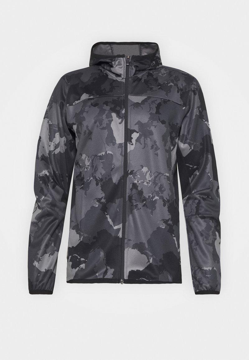 adidas Performance - Zip-up hoodie - grey four