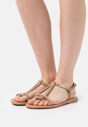 HABUC - Sandals - taupe