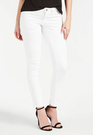 GUESS JEGGINGS DENIM - Jeans Skinny Fit - weiß