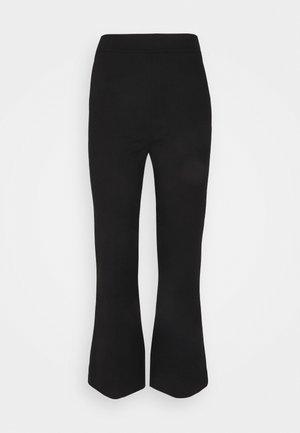 PONTI KICK FLARE TROUSER - Teplákové kalhoty - black